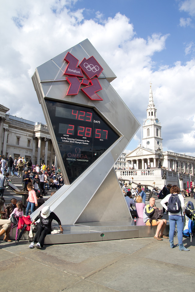 2012 Olympic Countdown Clock