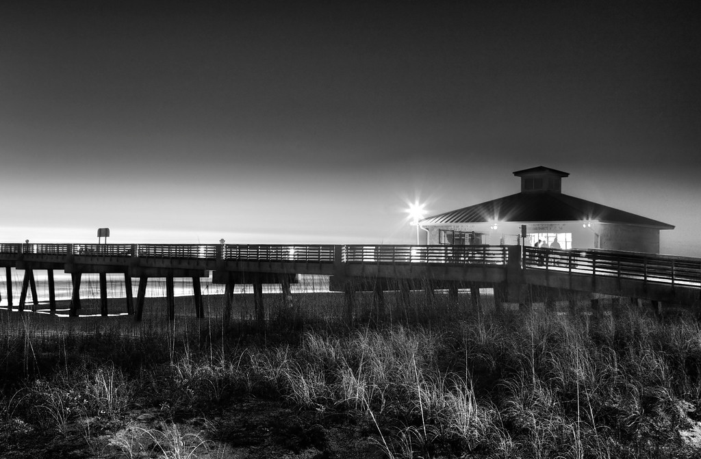 Jacksonville Beach Fishing Pier