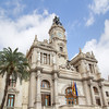 City Hall Building in Valencia, Spain.